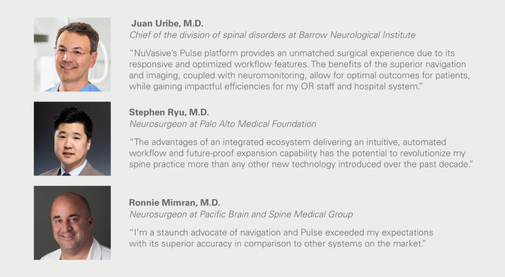 NuVasive Launches Pulse™—The First Integrated Technology